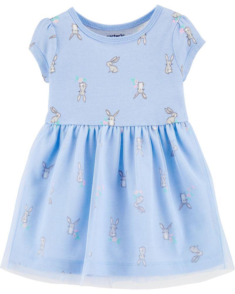 Bunny Tutu Jersey Dress, , hi-res