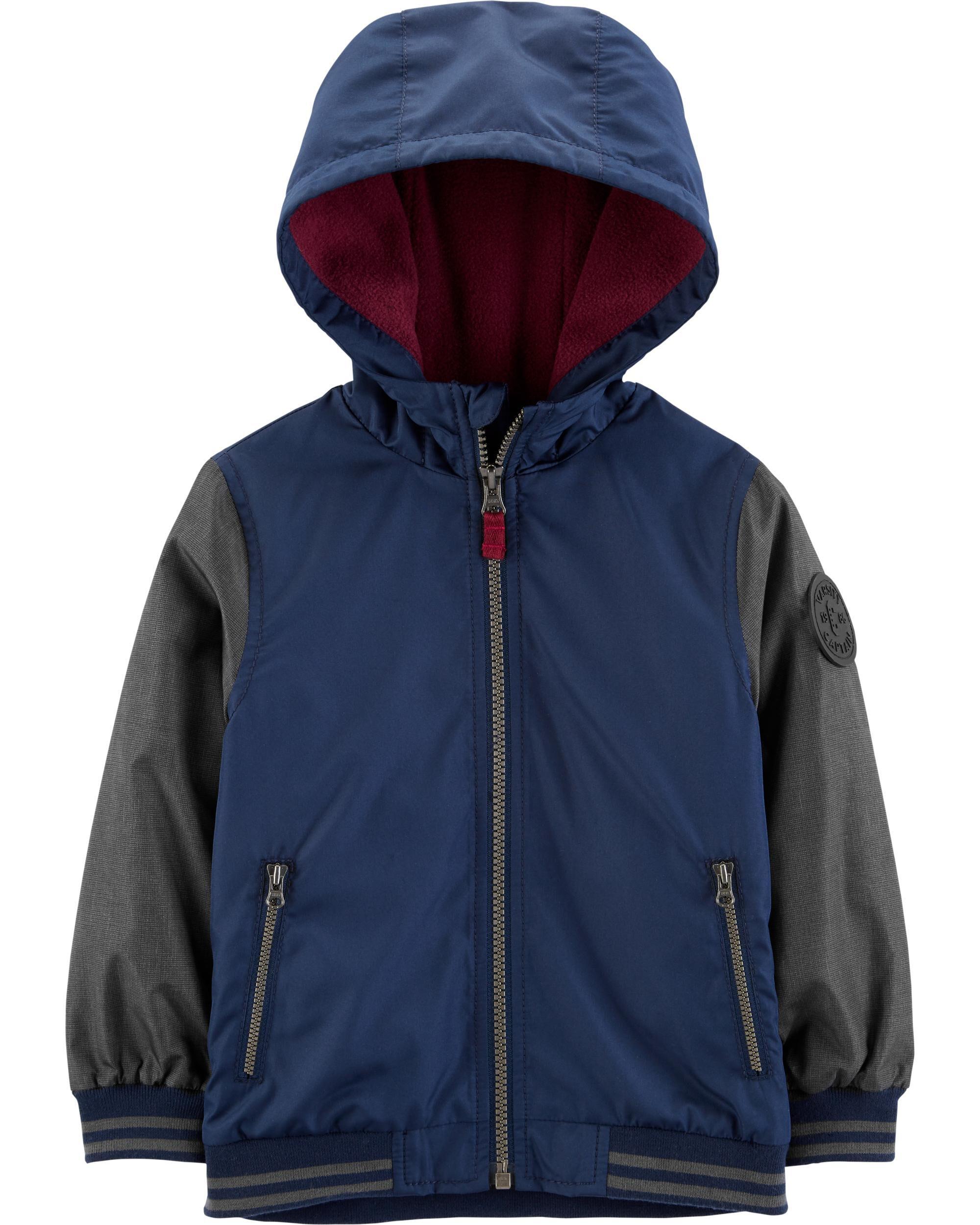 *CLEARANCE* Raglan Fleece-Lined Jacket