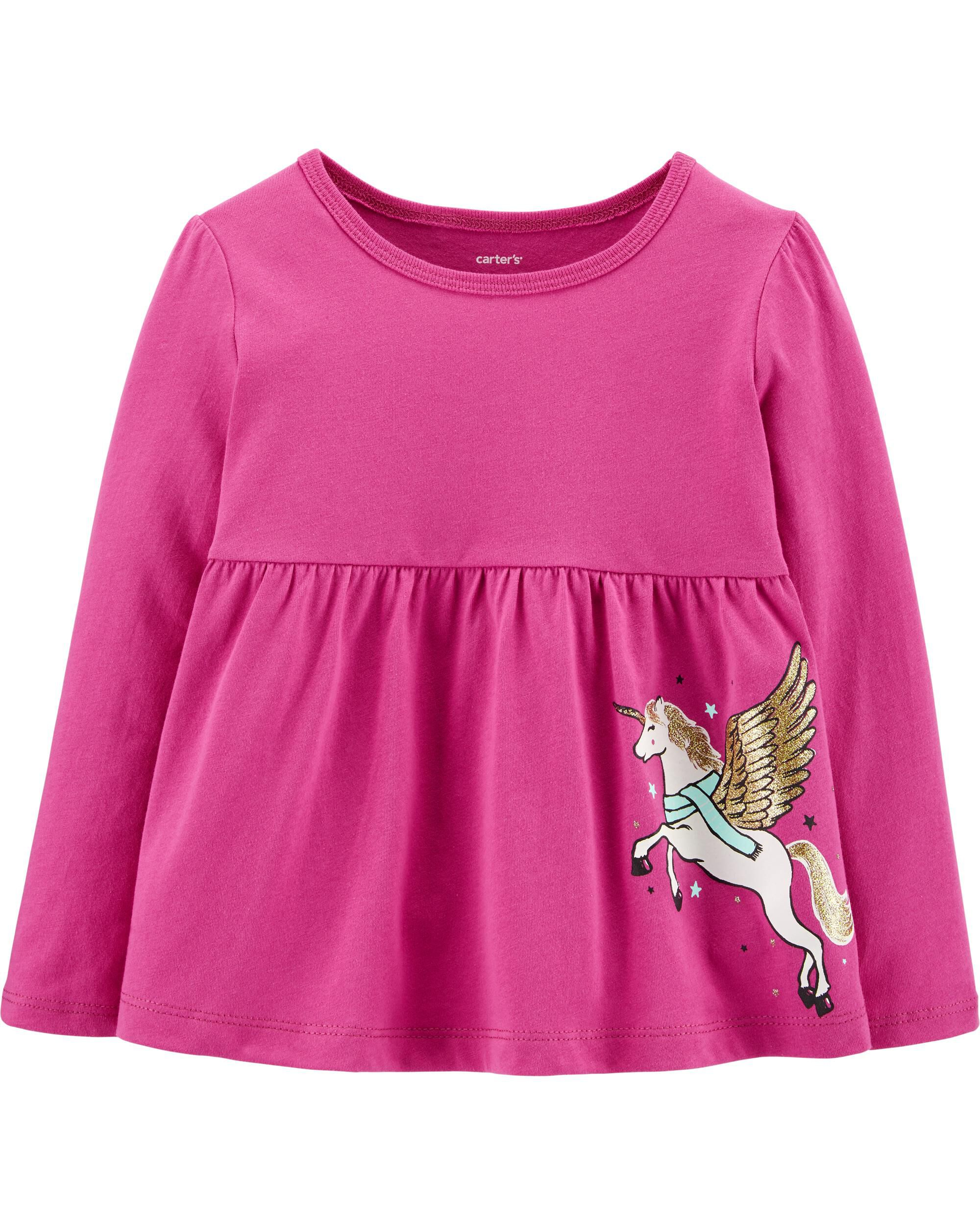 *CLEARANCE* Glitter Pegasus Jersey Top