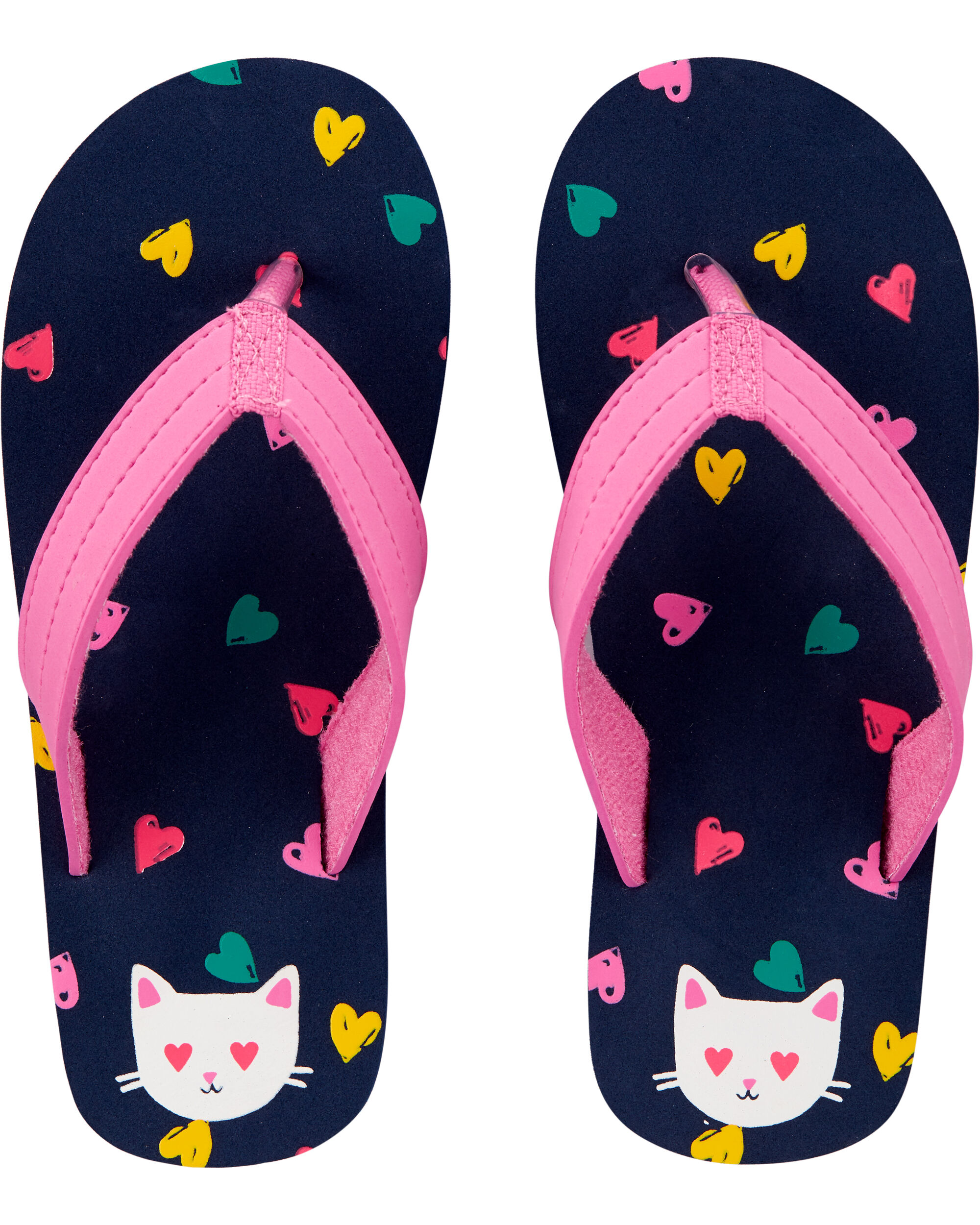 *DOORBUSTER* OshKosh Cat Flip Flops