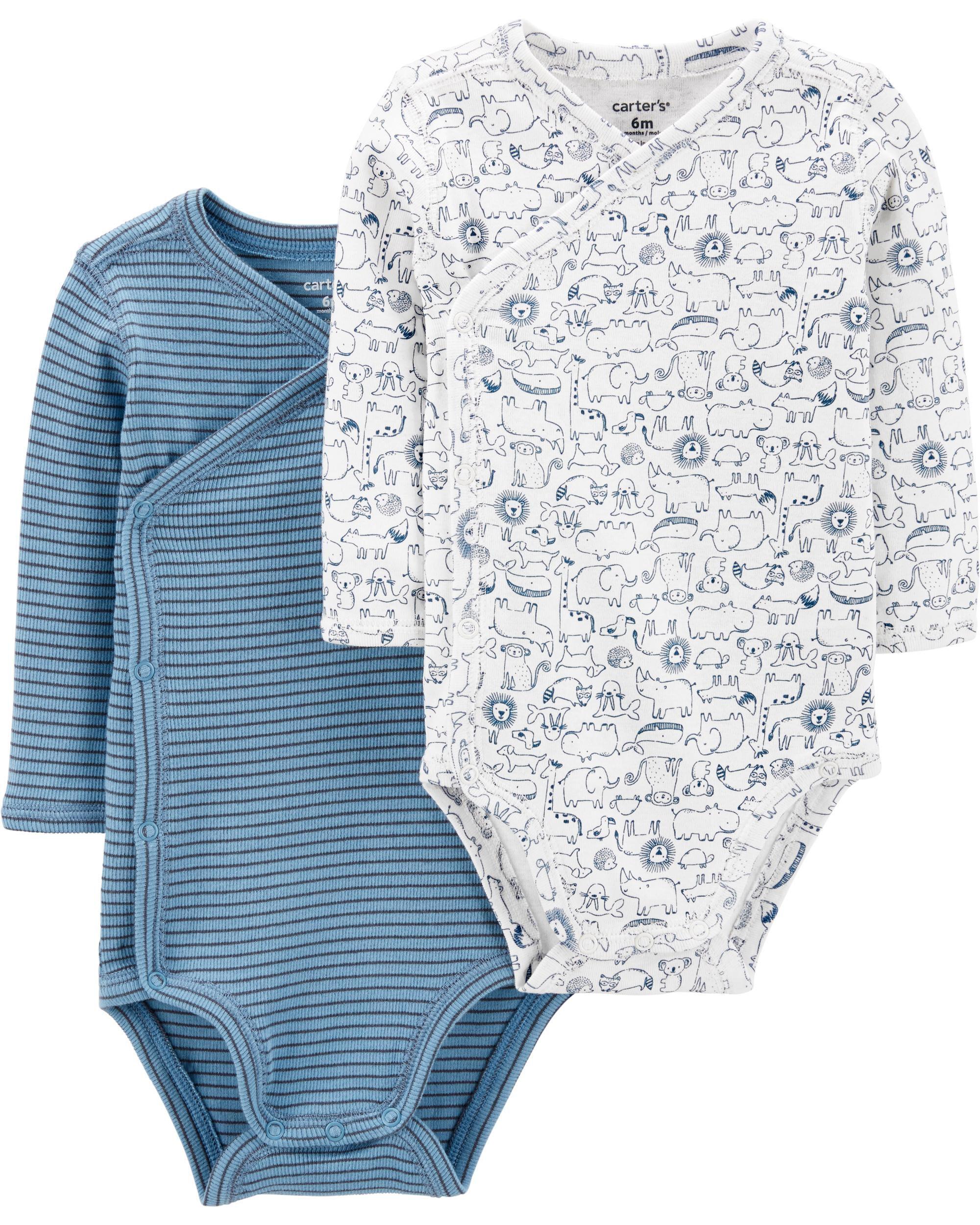 *CLEARANCE* 2-Pack Koala Side-Snap Bodysuits