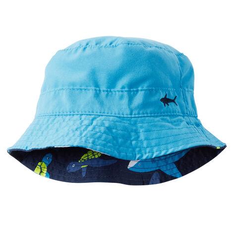 feb147ae759 Reversible Shark Print Bucket Hat · Reversible Shark Print Bucket Hat