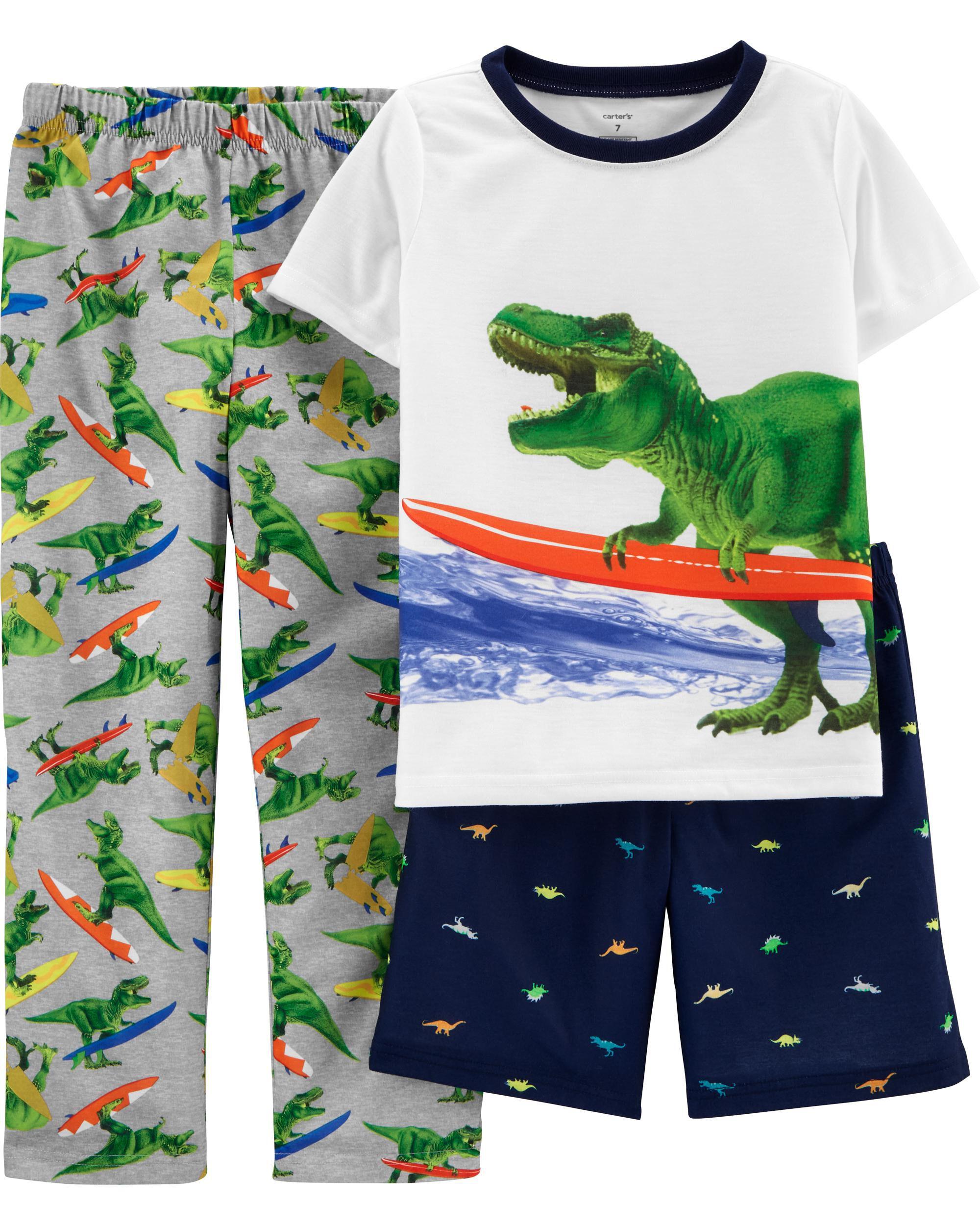 Boys Kids Official Character Pyjamas PJs Set Nightwear Age Size 4-12 Yrs