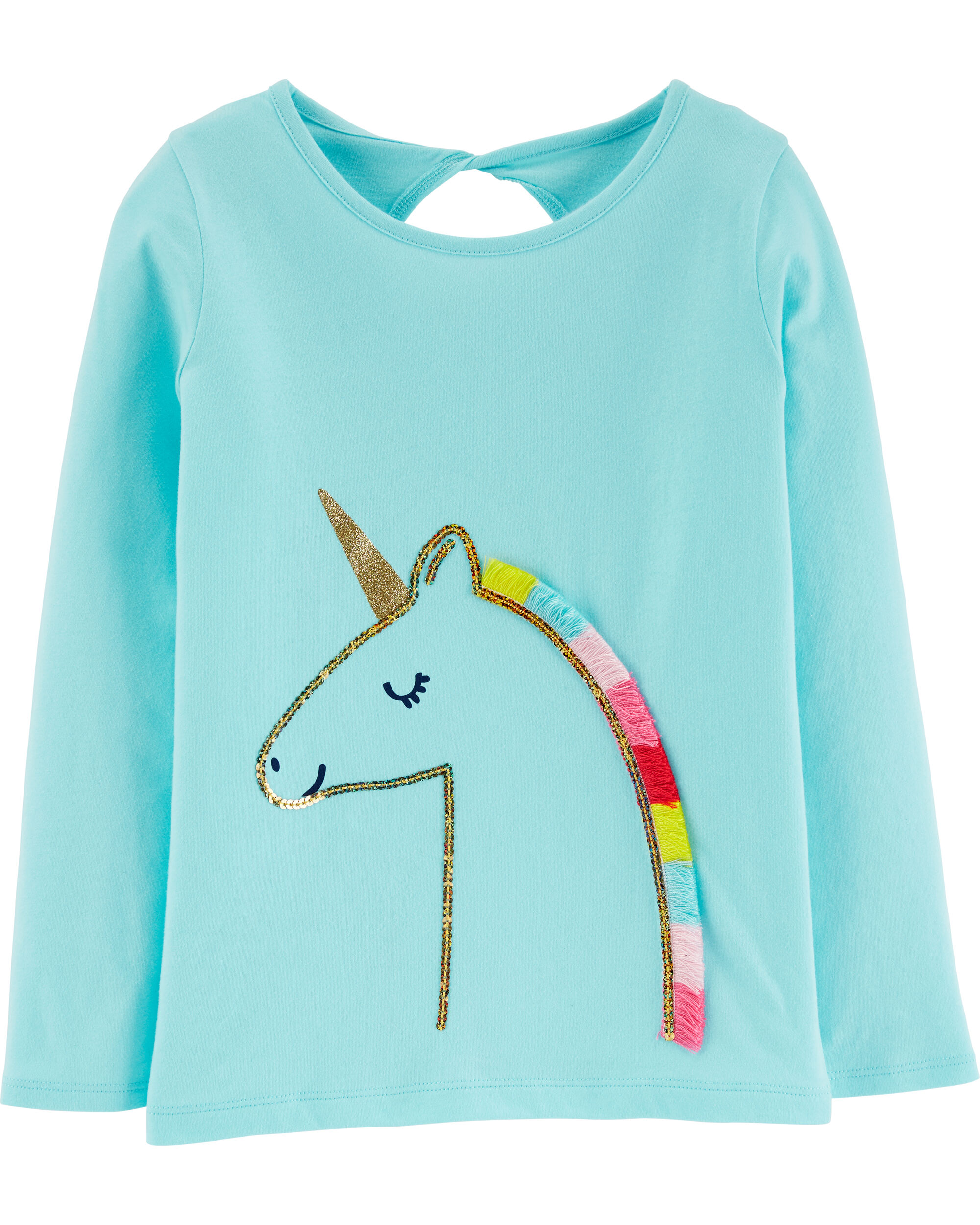 *CLEARANCE* Sequin Unicorn Jersey Tee