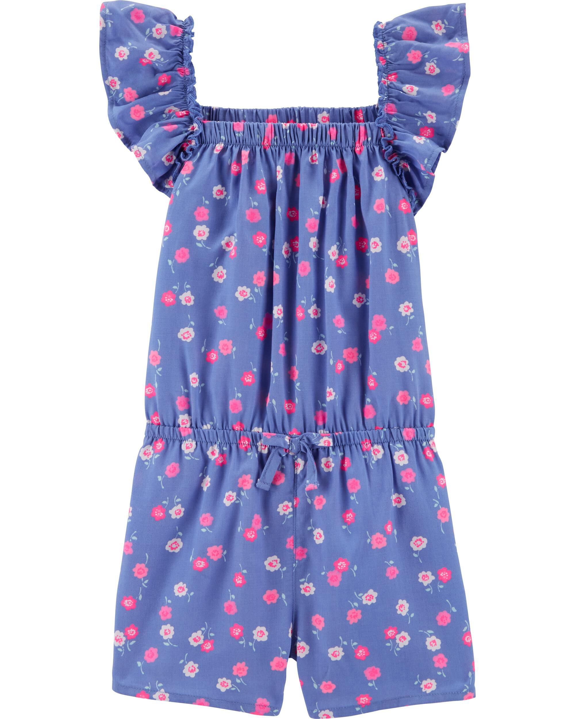 *CLEARANCE*Ruffle Floral Romper