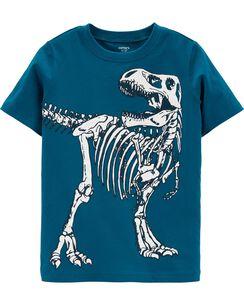 Dinosaur Skeleton Jersey Tee