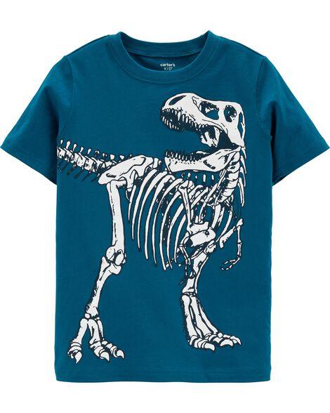 e5a5b9754 Dinosaur Skeleton Jersey Tee | Carters.com