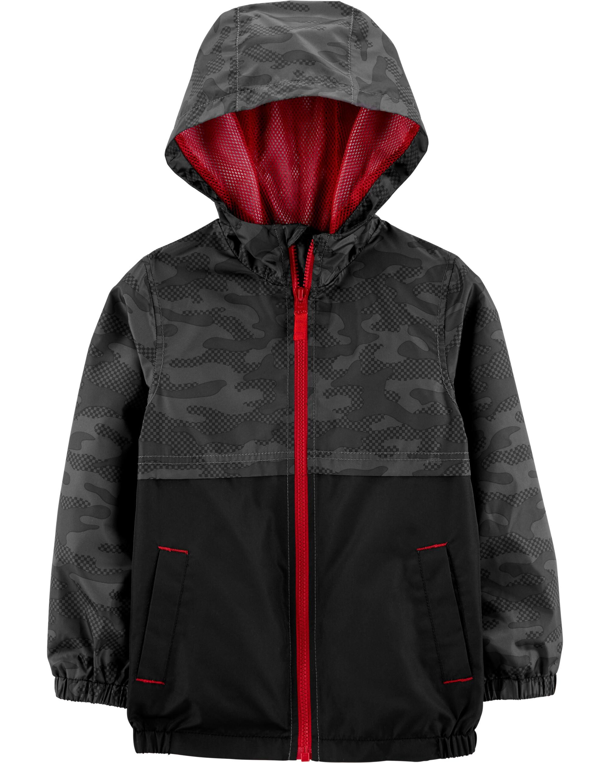 Autumn Winter Childrens Down Cotton Jacket Outdoor Boys Girls Camouflage Thin Hooded Coat Kids Ultra-light Zipper Outwear Tops Excellent Quality In