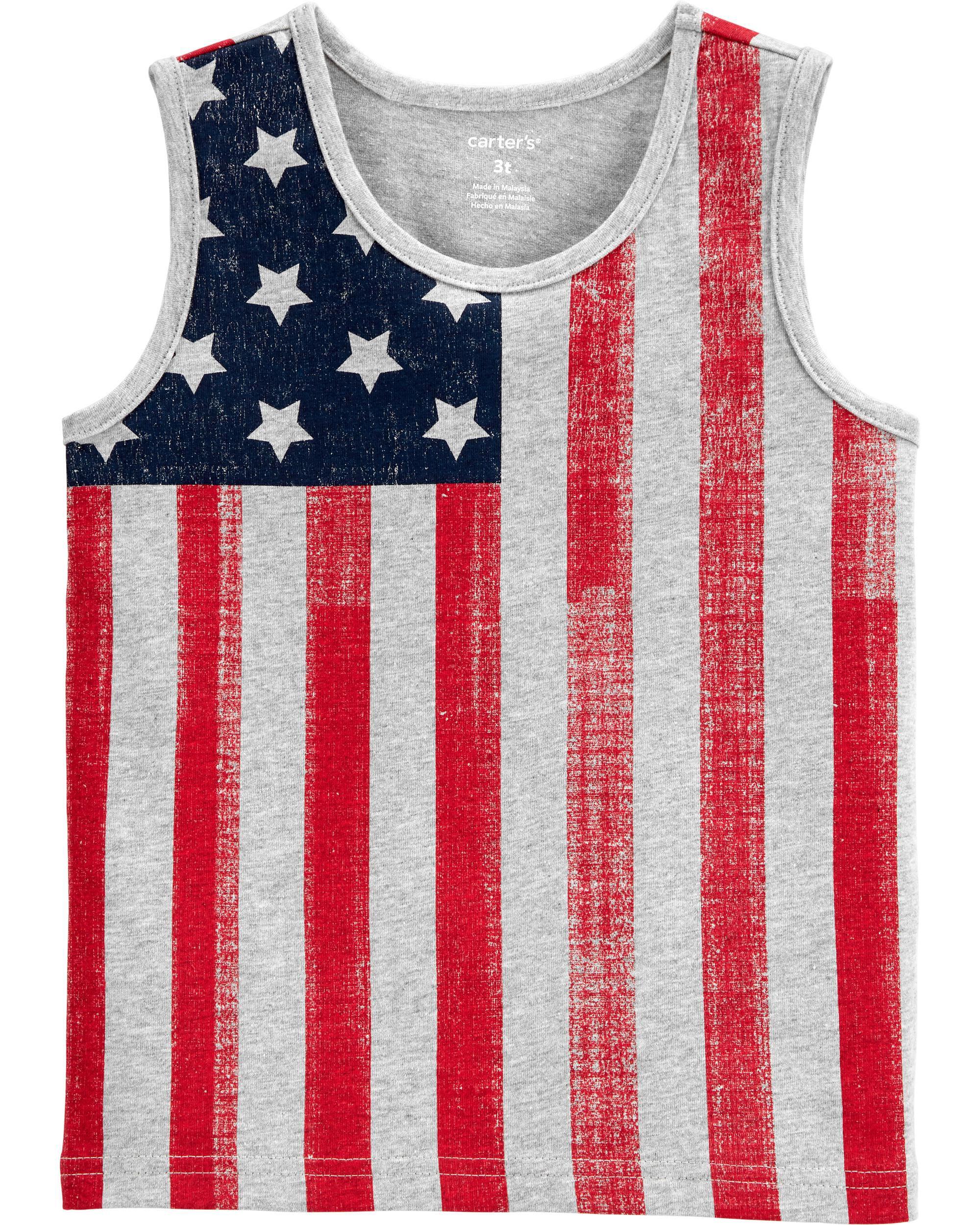 *CLEARANCE* American Flag Tank
