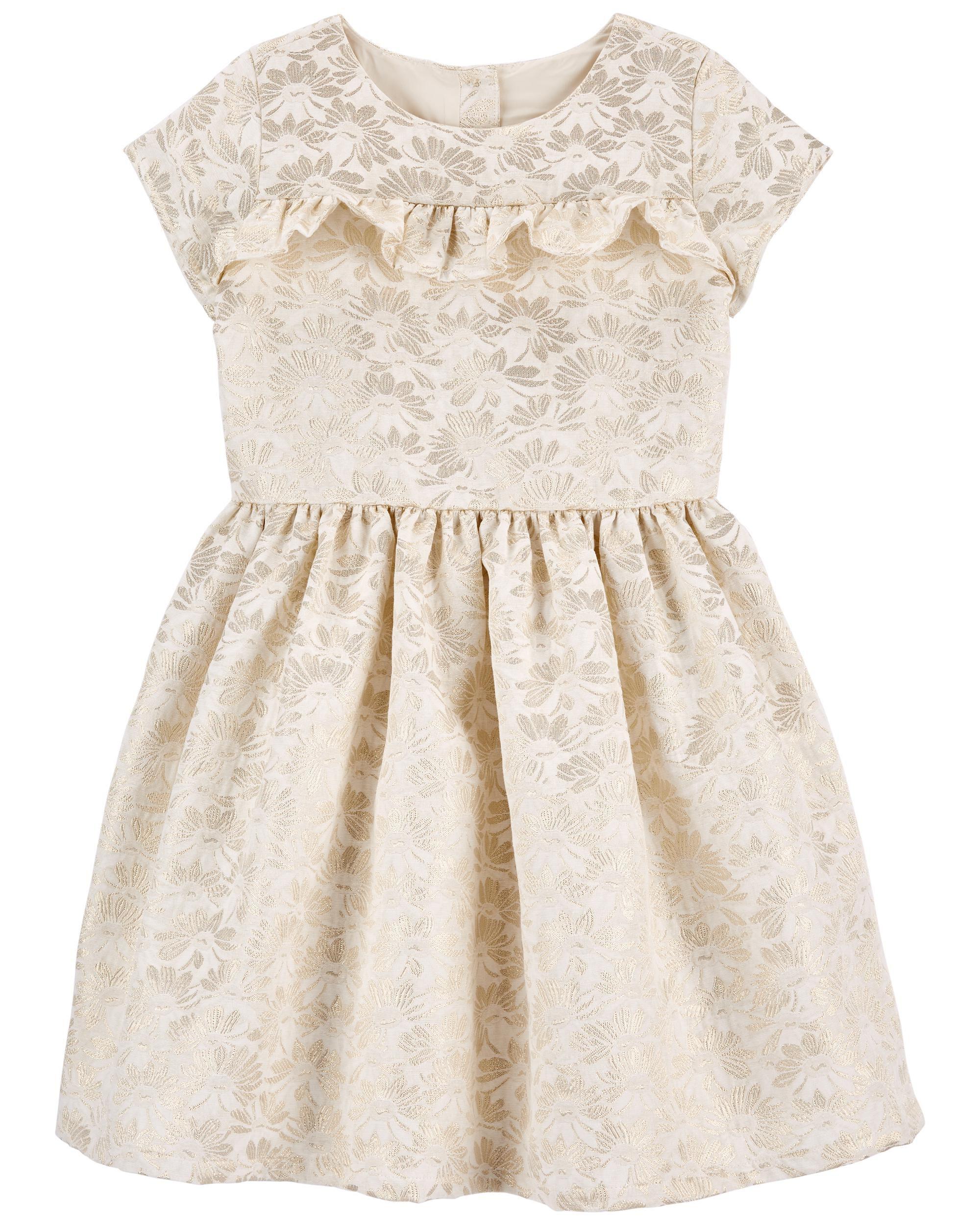*CLEARANCE* Jacquard Woven Dress