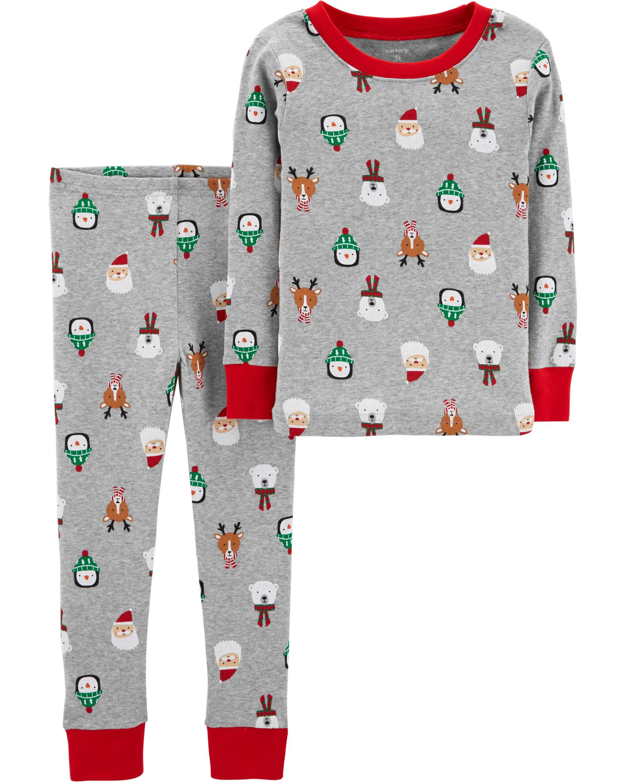 2-Piece Baby Christmas Snug Fit Cotton PJs | Carters.com