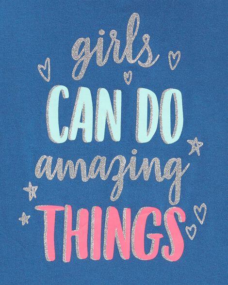 Glitter Girls Can Do Amazing Things Tee