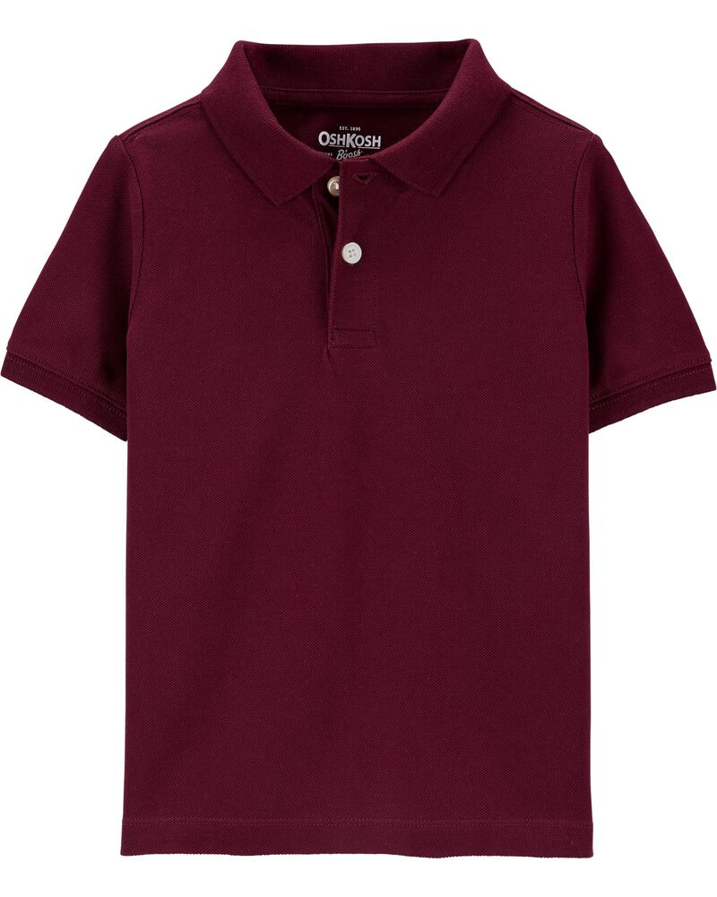 oshkosh Uniform Pique Polo