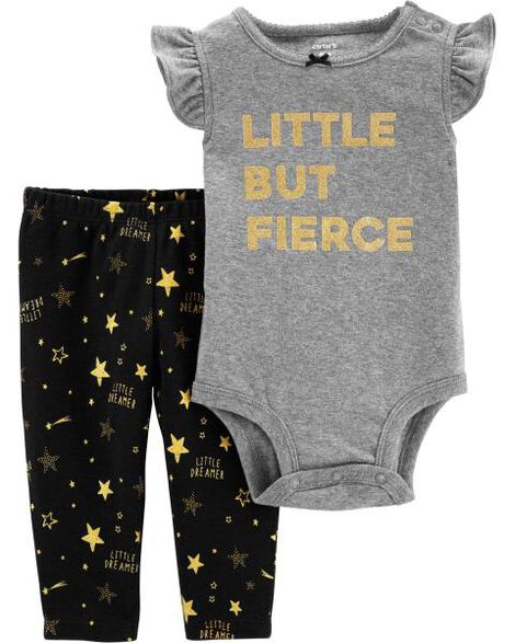 2-Piece Stars Bodysuit Pant Set