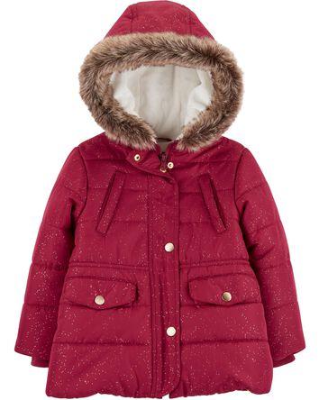 203e5c5b1f8 Toddler Girl Jackets & Outerwear | Carter's | Free Shipping