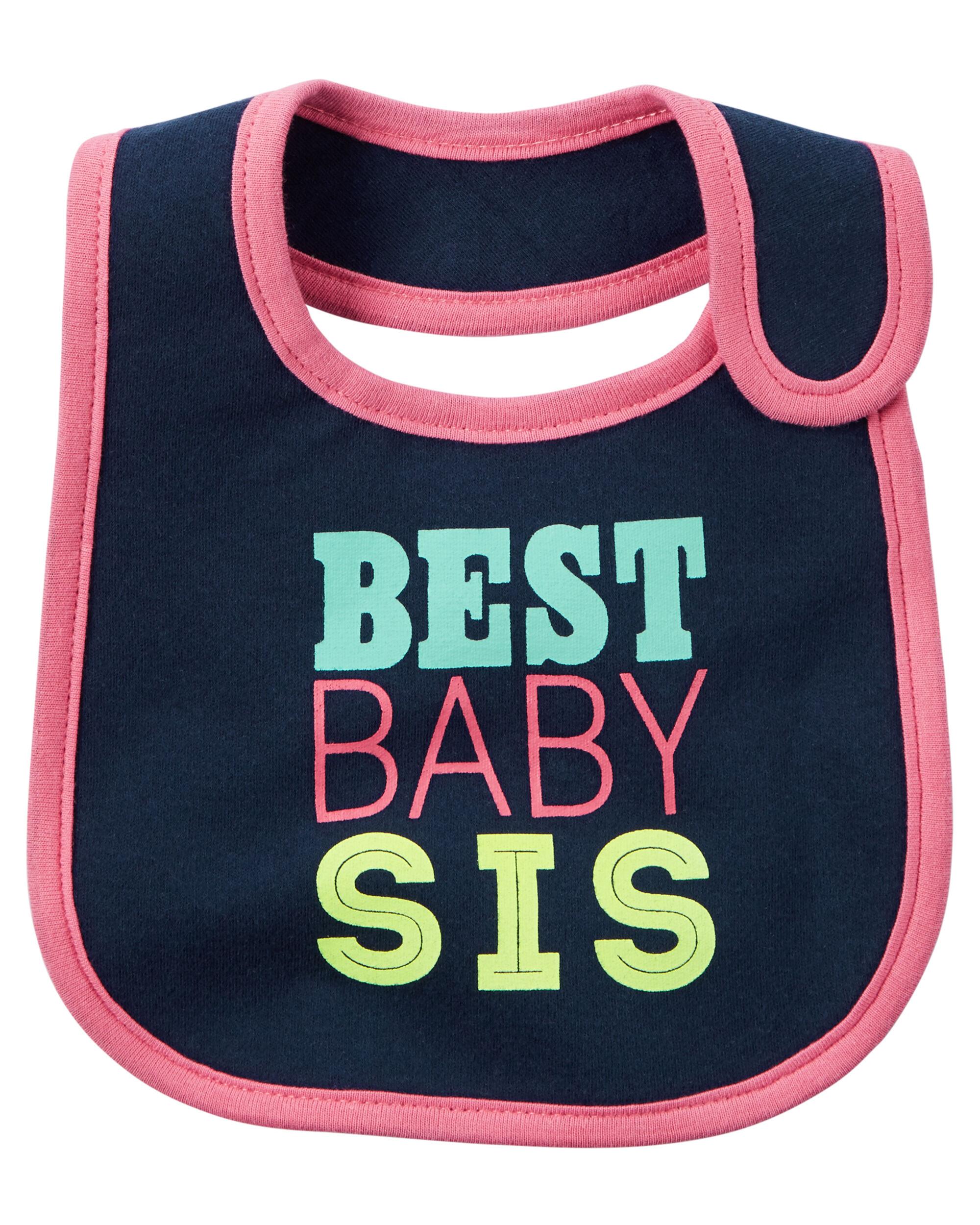 Best Baby Sis Teething Bib