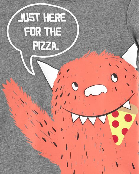 Pizza Monster Jersey Tee