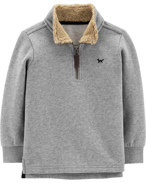 Half-Zip Fleece Pullover