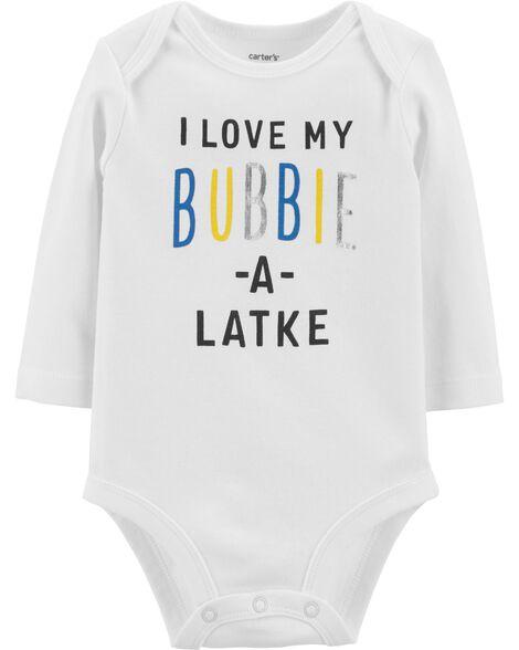 Love My Bubbie Hanukkah Bodysuit