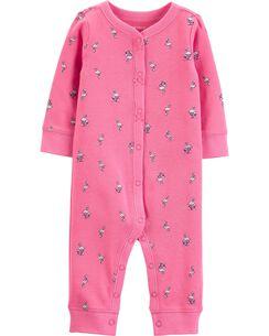 fa6b6d640 Baby Girl Sleep   Play Pajamas