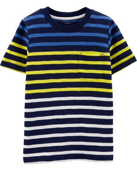 6f9804064e97 Images. Striped Pocket Slub Jersey Tee