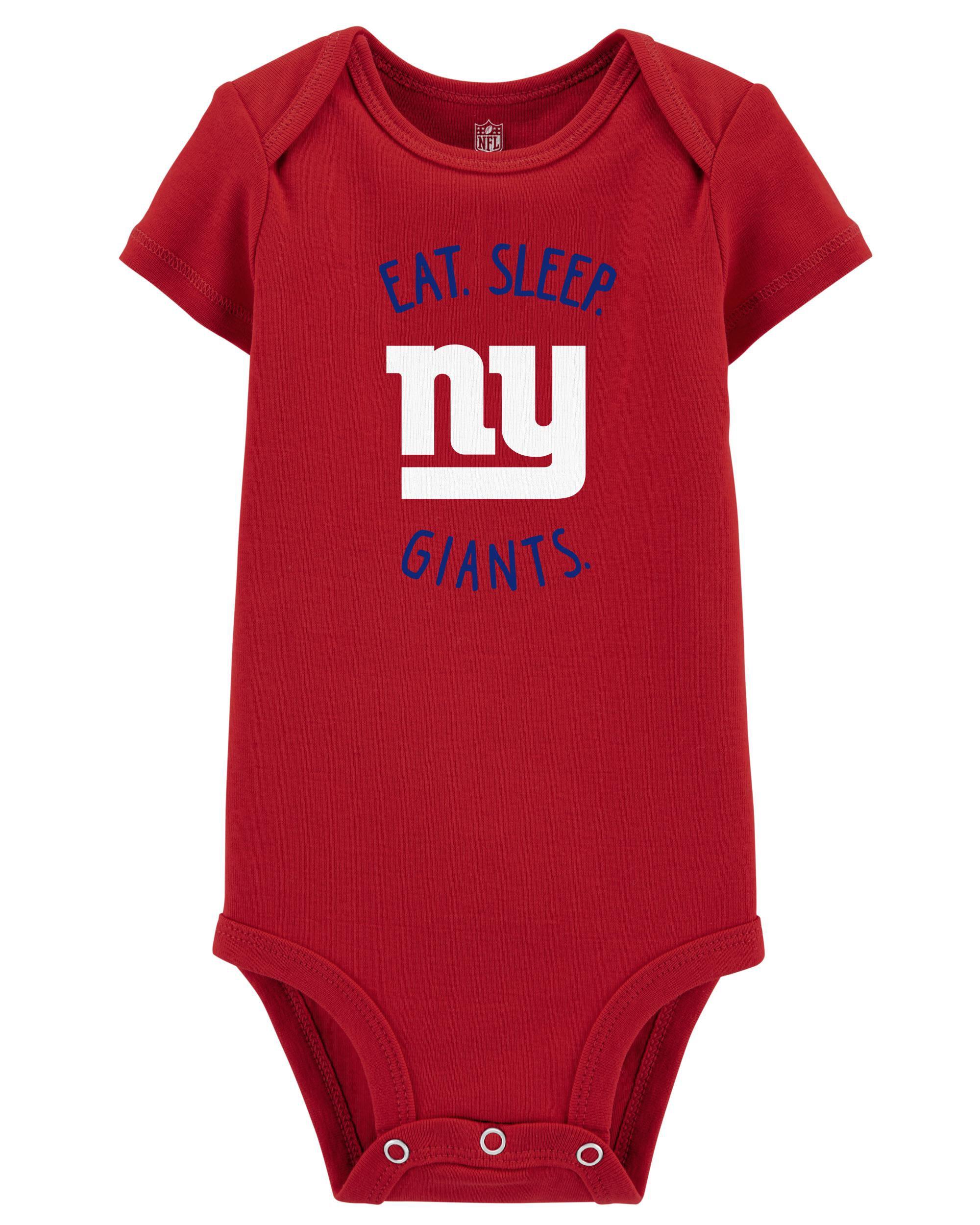 NFL football kids One Piece jersey Baby bodysuit Newest fan New York Giants