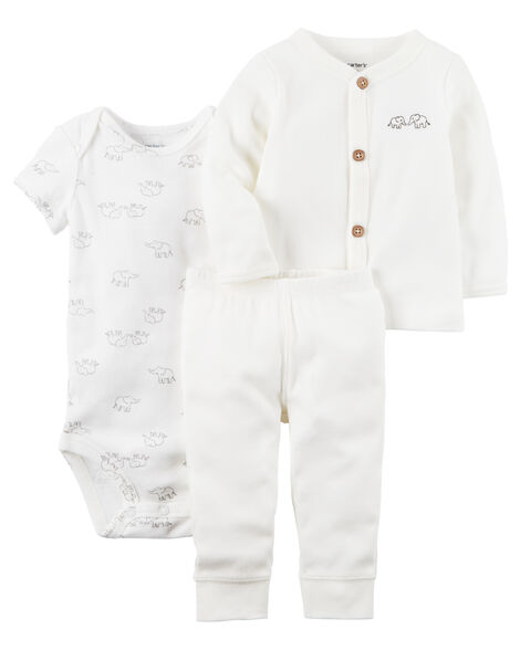 bbcb573f7 3-Piece Babysoft Little Cardigan Set