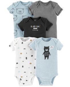 9afc475f8088 5-Pack Bear Original Bodysuits