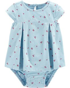 bb51a909822c5 Baby Girl Dresses & Rompers | Carter's | Free Shipping
