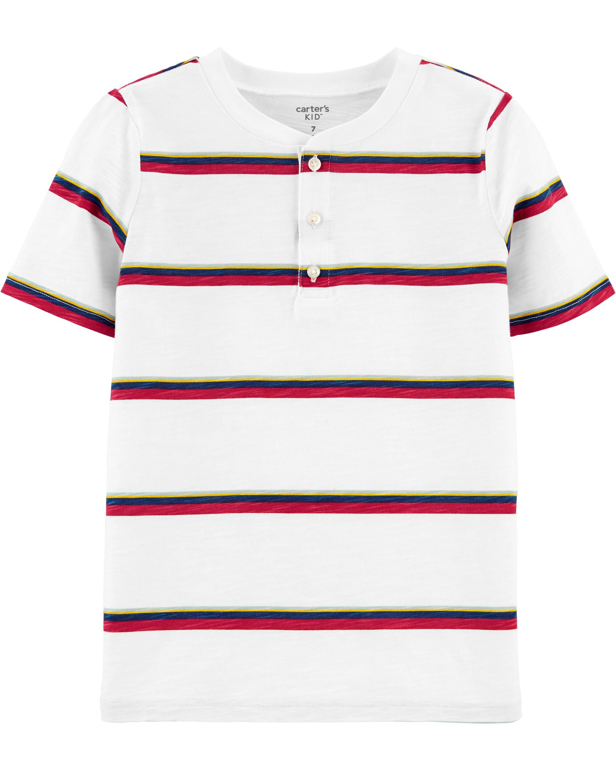 *CLEARANCE* Striped Jersey Polo