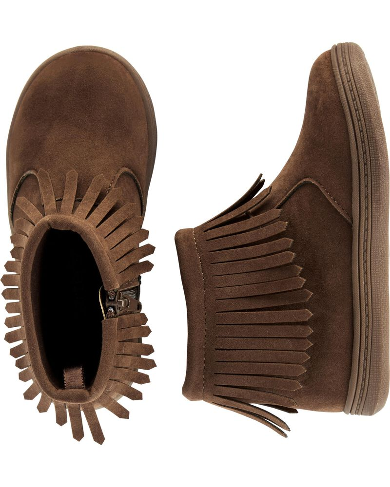 finest selection for whole family fresh styles Carter's Fringe Ankle Boots | carters.com