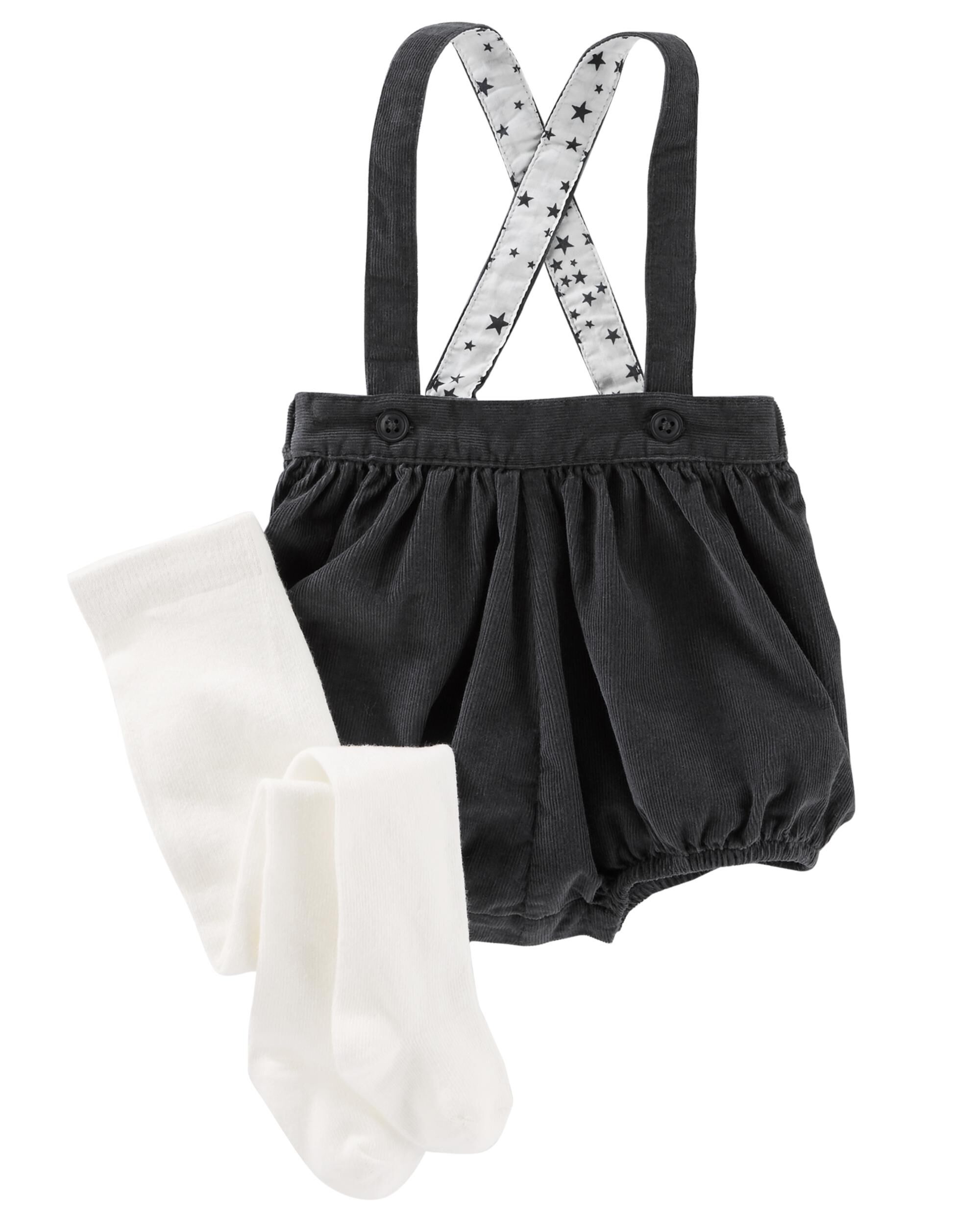8b31922dd73 2-Piece Tights   Suspender Bubble Shorts. Loading zoom