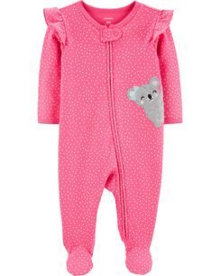 9e53ff175 Heart Koala Zip-Up Cotton Sleep & Play. Expand Shop-Now