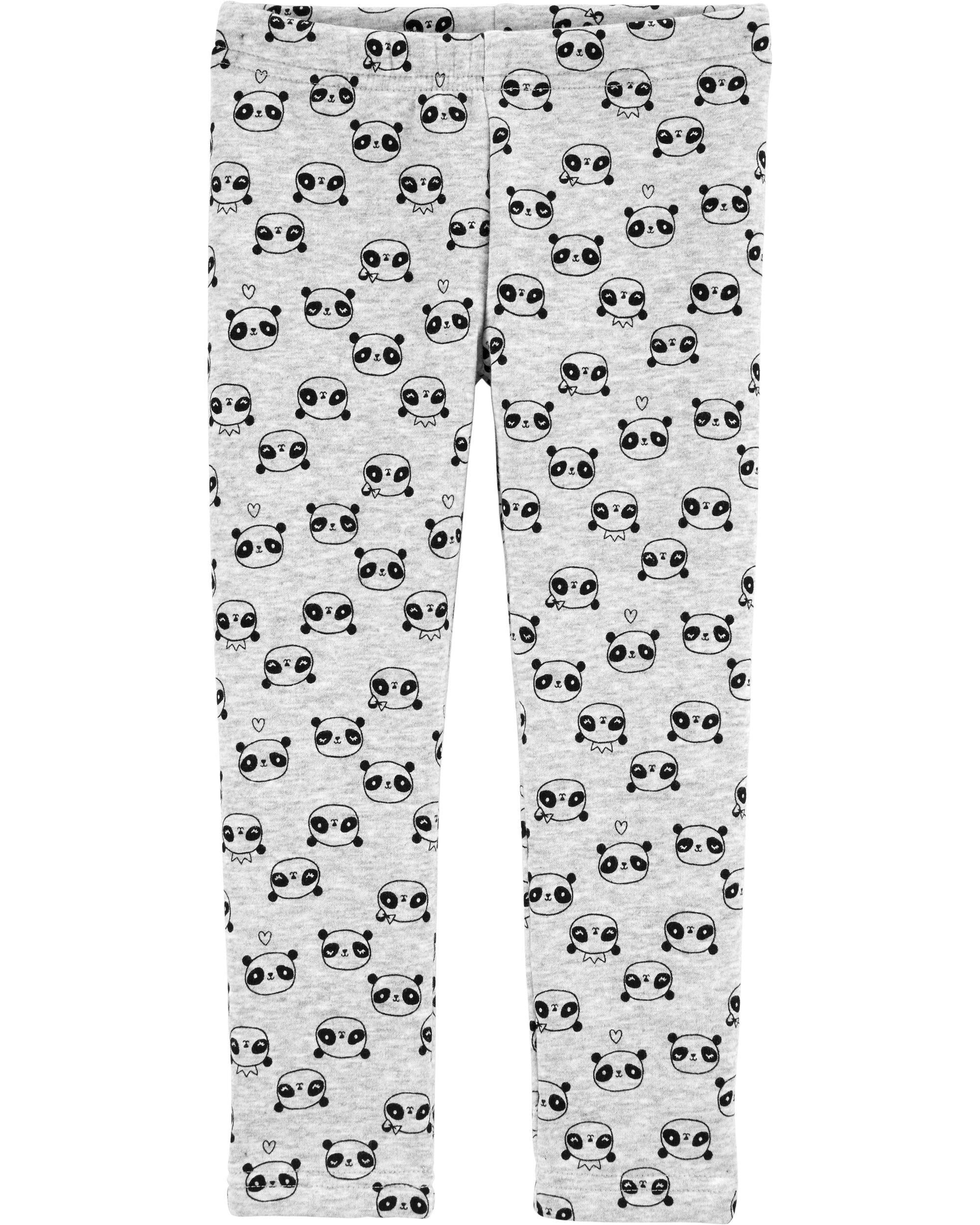 *CLEARANCE* Panda Cozy Fleece Leggings