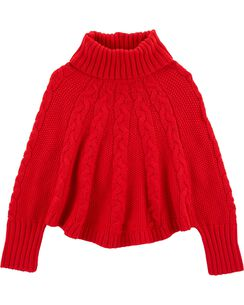 holiday poncho sweater - Christmas Shirts For Girls