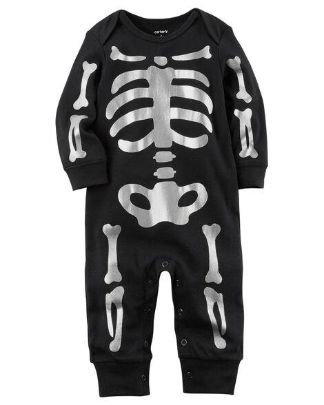 e086eec880bd Halloween Skeleton Jumpsuit