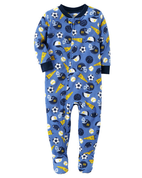 5068f7faf 1-Piece Sports Fleece PJs