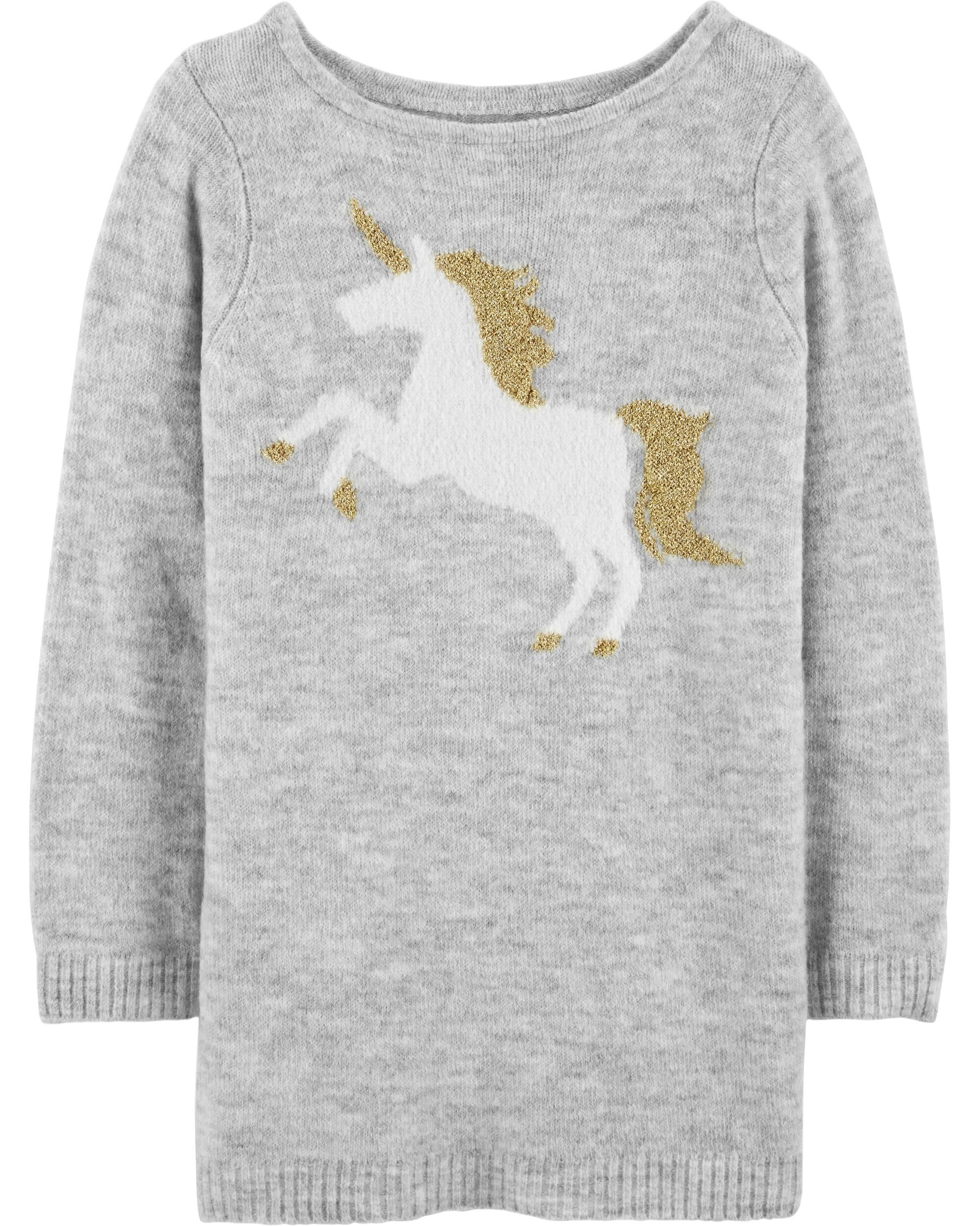 e4ffb8b3a39 Glitter Unicorn Sweater. Loading zoom
