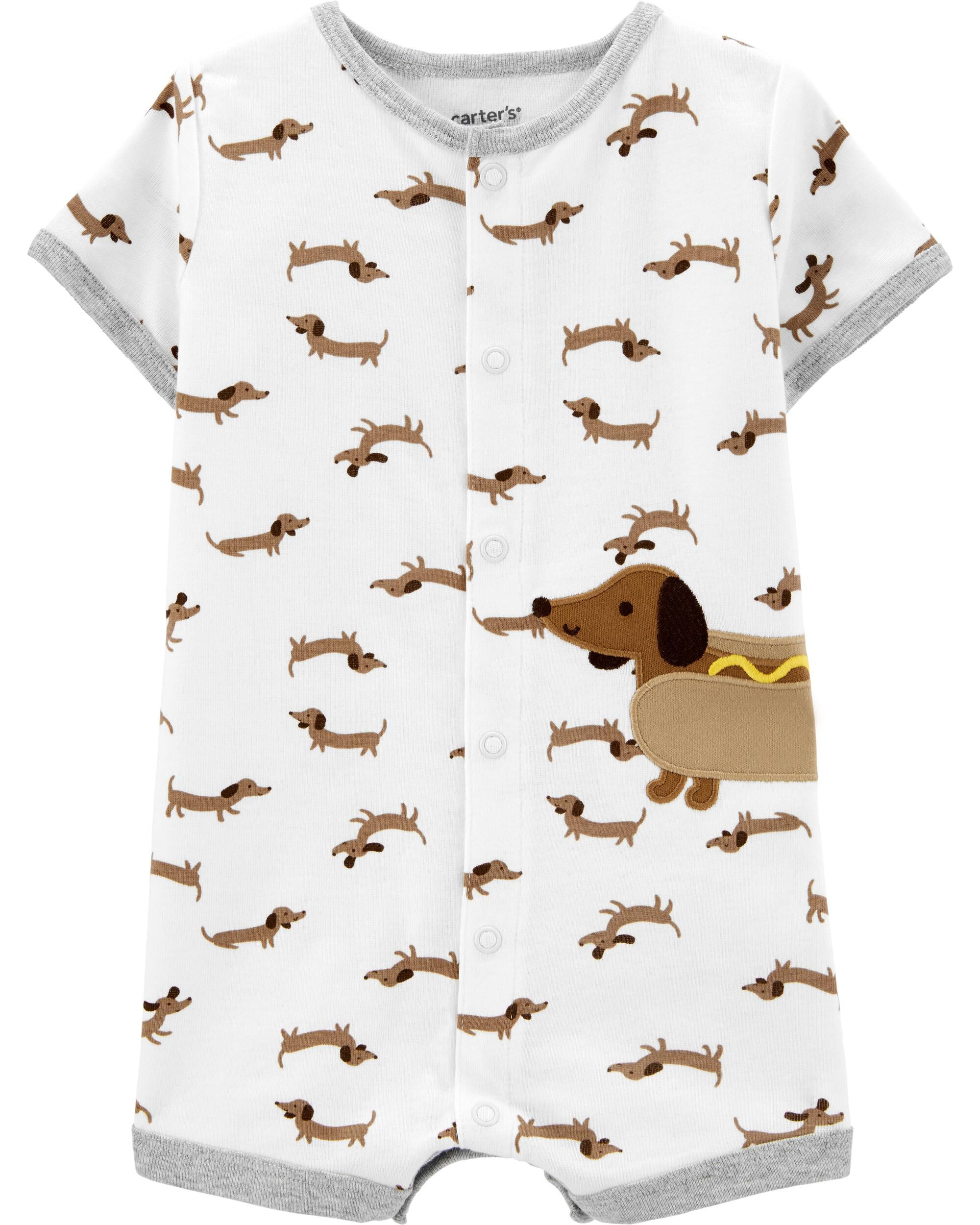 *DOORBUSTER* Dog Snap-Up Romper