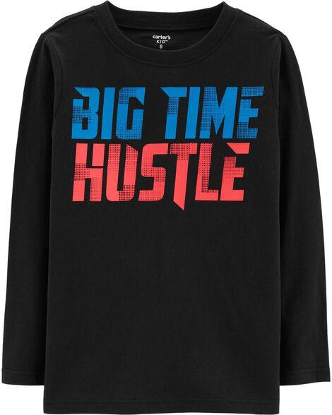 Big Time Hustle Jersey Tee