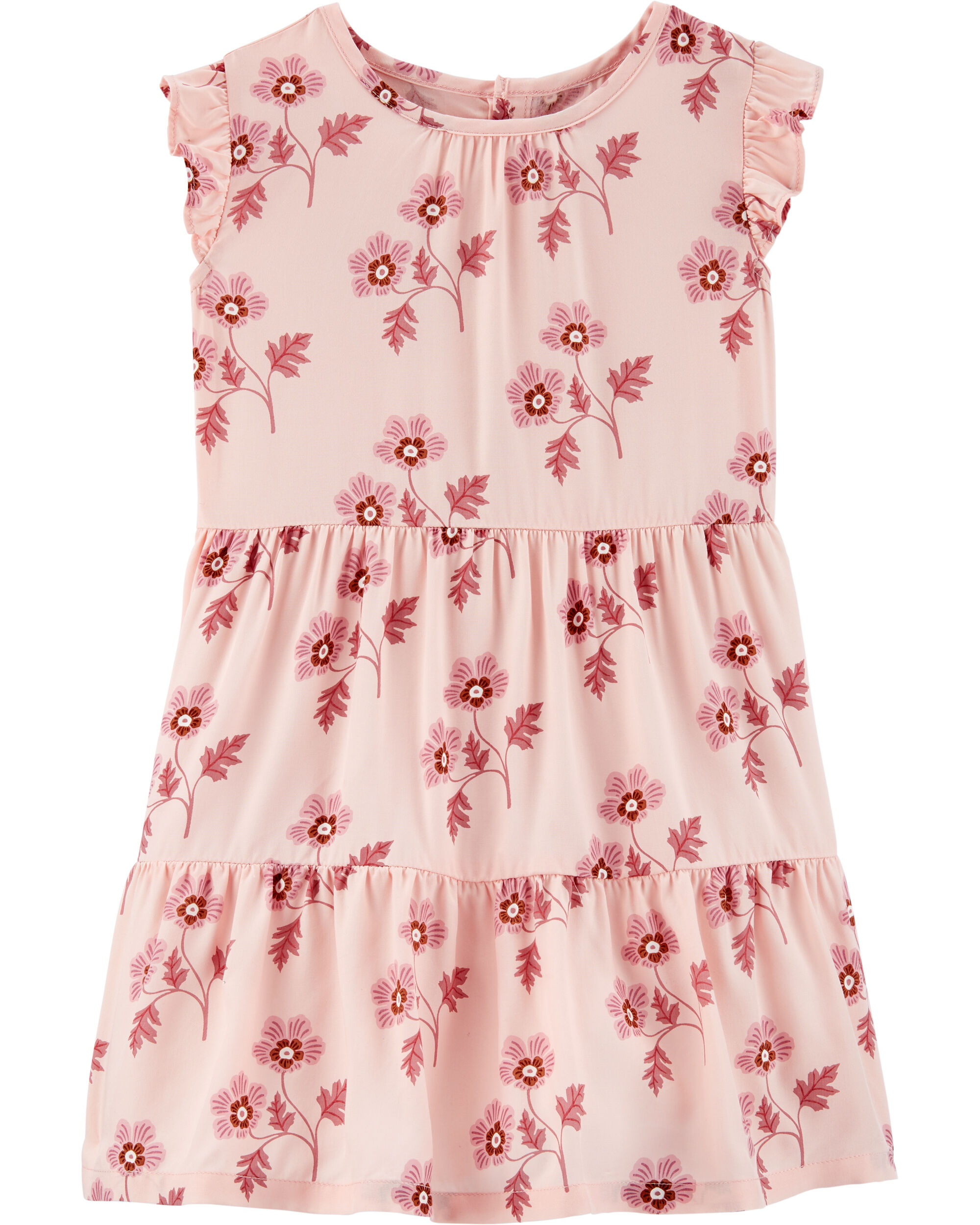 *CLEARANCE* Floral Tiered Dress