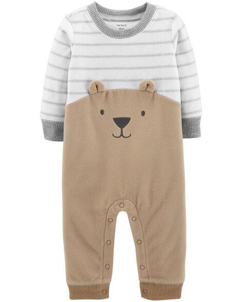 4d8df11bf Bear Fleece Jumpsuit
