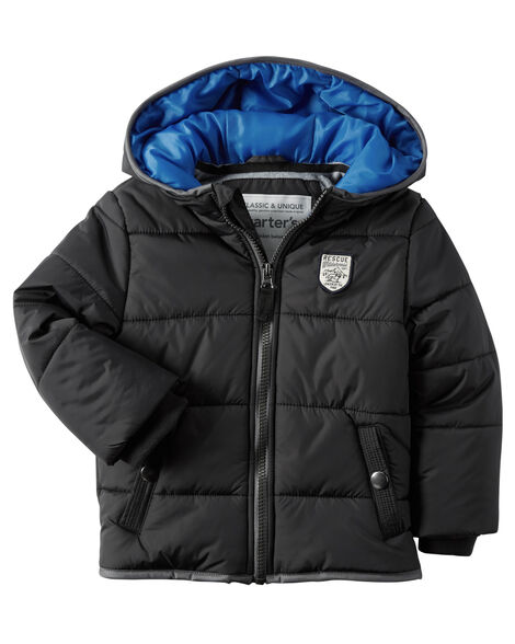 22cf1e266441 Fleece-Lined Puffer Jacket