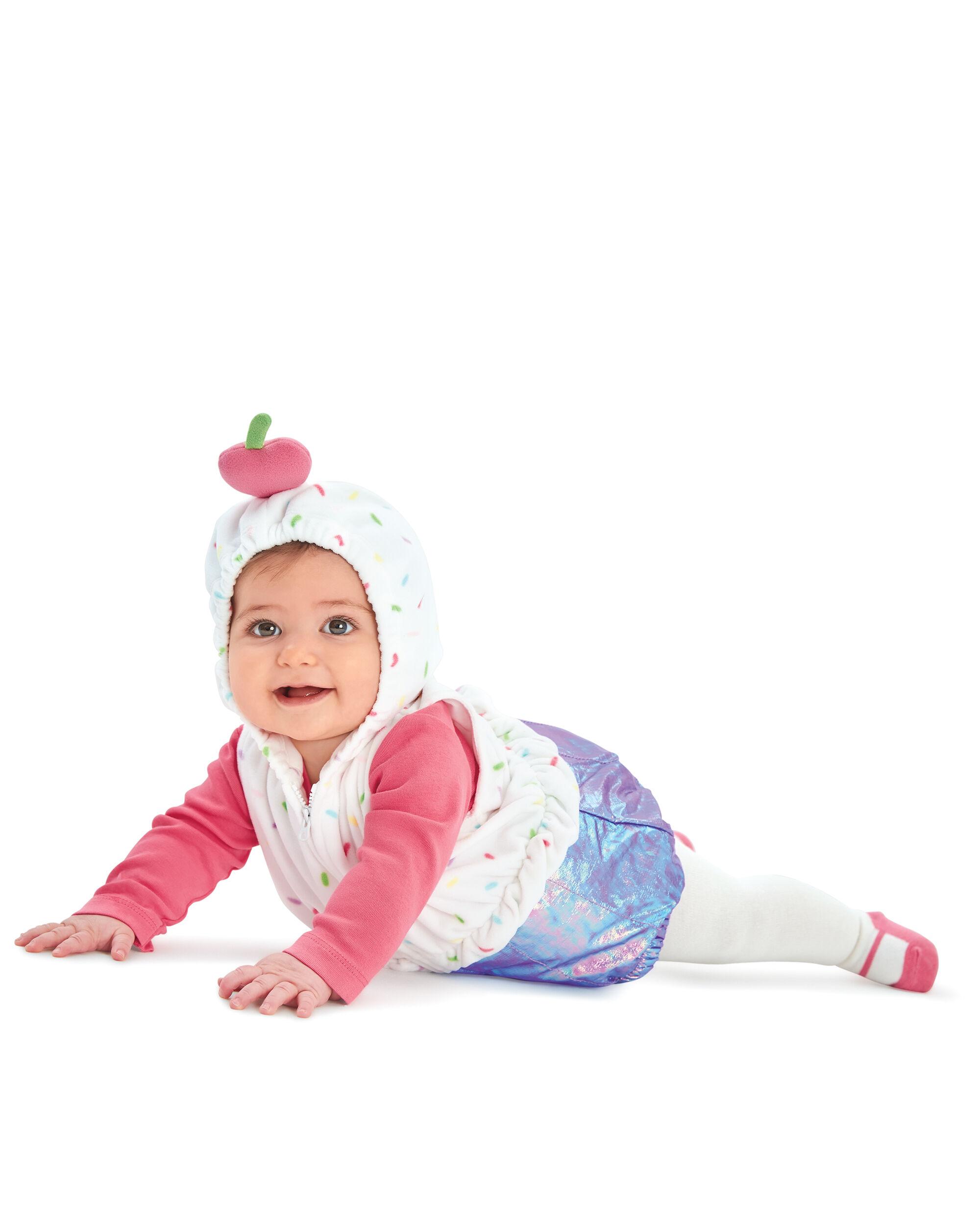 Little Cupcake Halloween Costume; Little Cupcake Halloween Costume ...  sc 1 st  Carteru0027s & Little Cupcake Halloween Costume | Carters.com