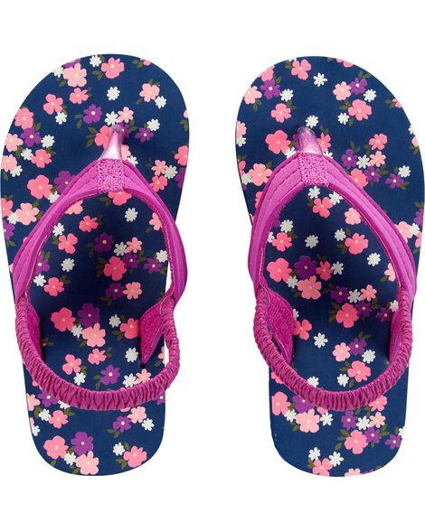 Carter's Floral Flip Flops