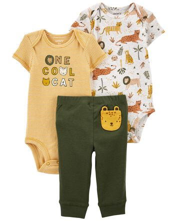 Details about  /Carter/'s Baby Boy Doggy Shortall Set Summer Outfit Size 3 6 Months 3M 6M NWT NEW