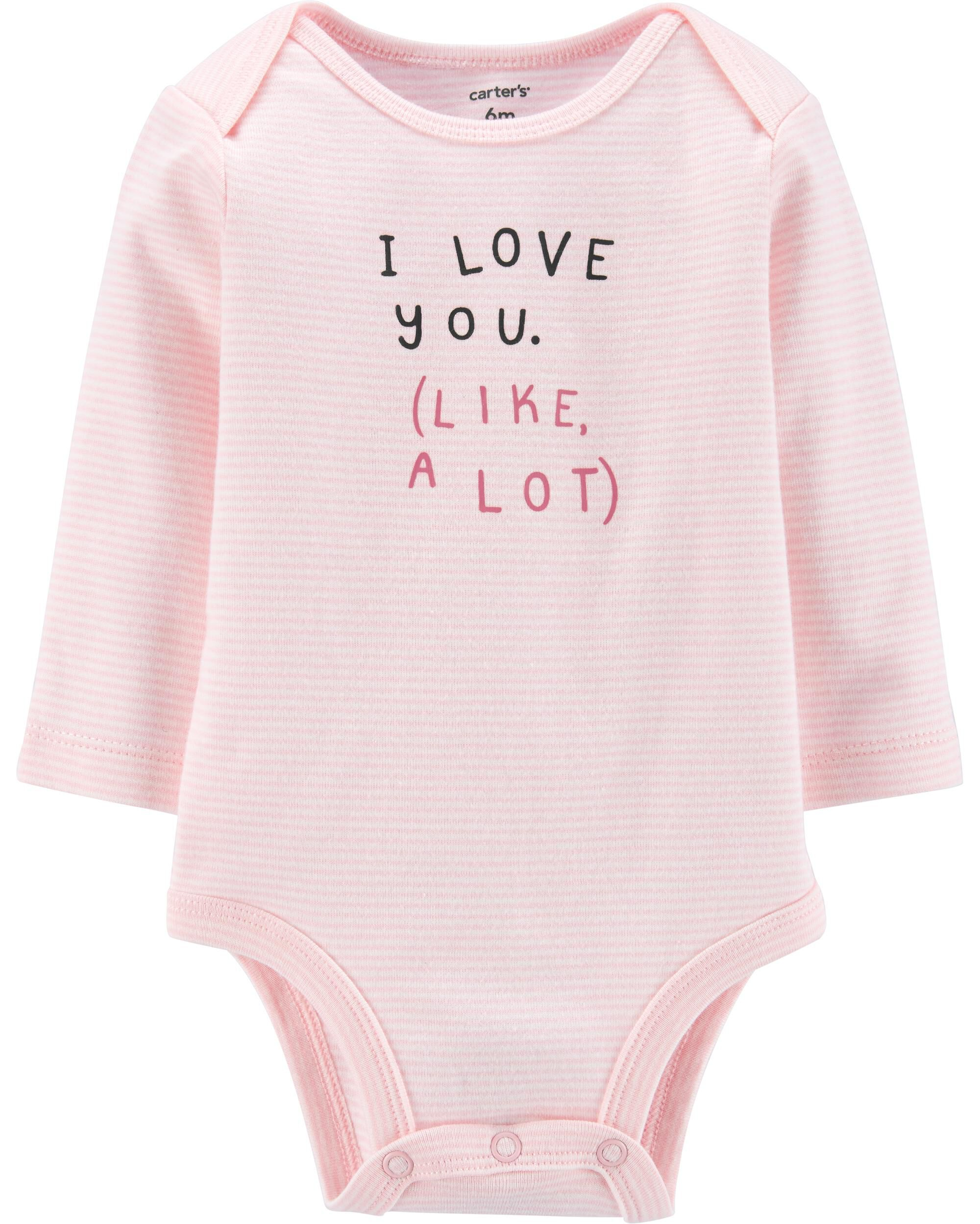 *CLEARANCE* I Love You Collectible Bodysuit