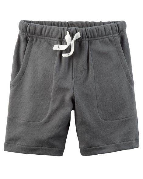 Easy Pull-On French Terry Shorts