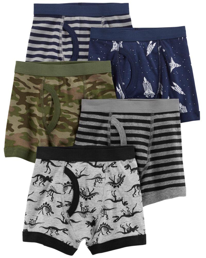 Winging Day Boys Soft Cotton 5-Pack Brief Underwear Size 4T//5T