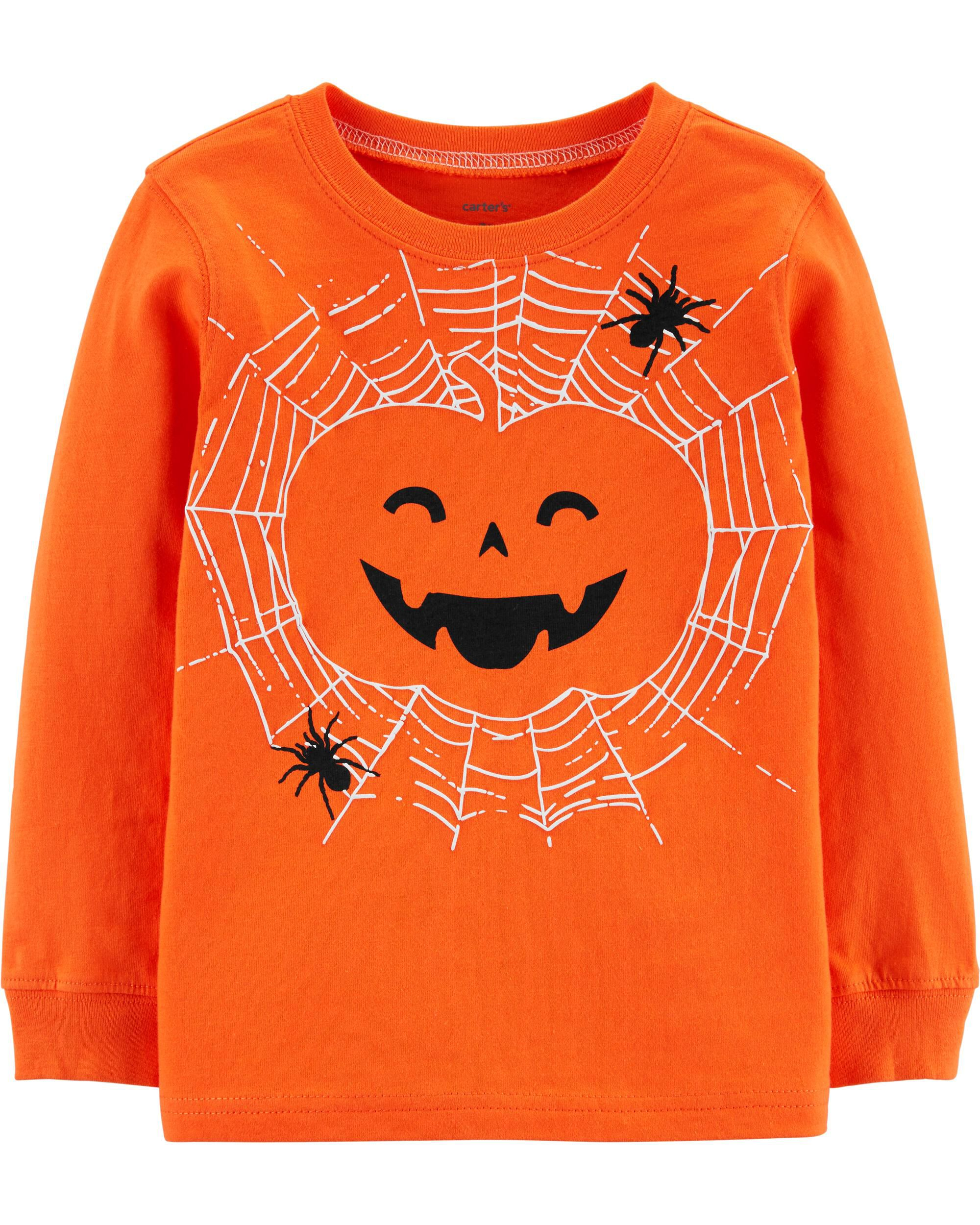 *CLEARANCE* Halloween Jack-O-Lantern Jersey Tee